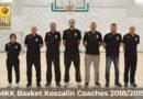 Sztab trenerski MKK Basket Koszalin 2018/2019