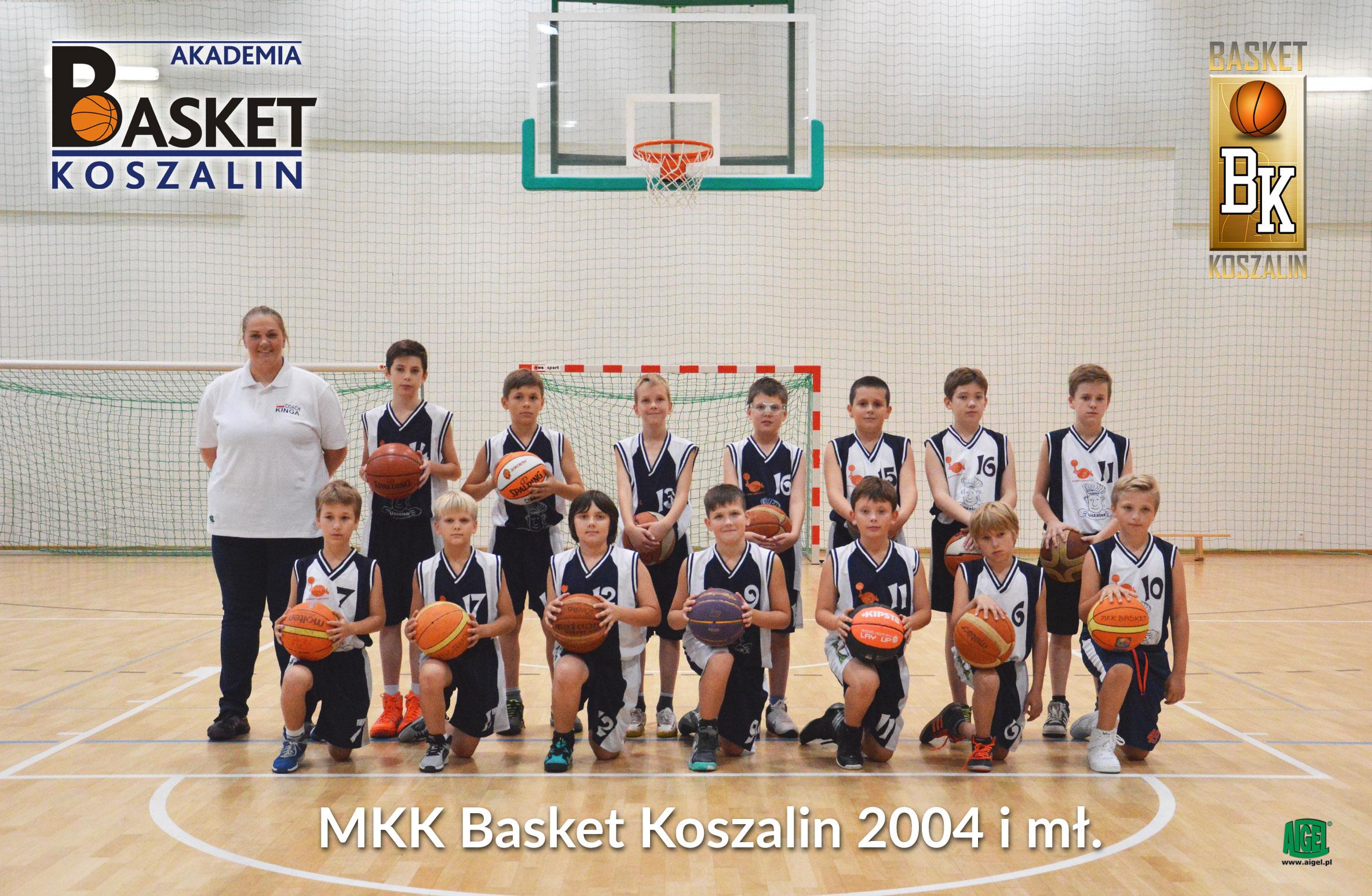 MKK Basket Koszalin 2004 i mł.