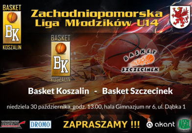 Liga młodzika U 14 – kolejny mecz w Koszalinie