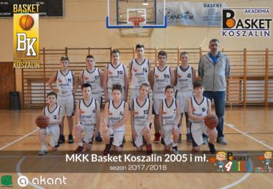 Młodzicy U13 MKK Basket Koszalin