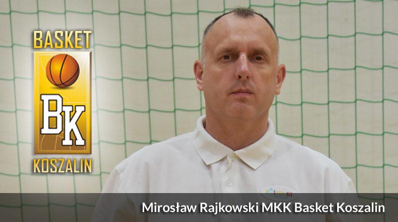 Mirosław Rajkowski nowym trenerem w MKK Basket Koszalin