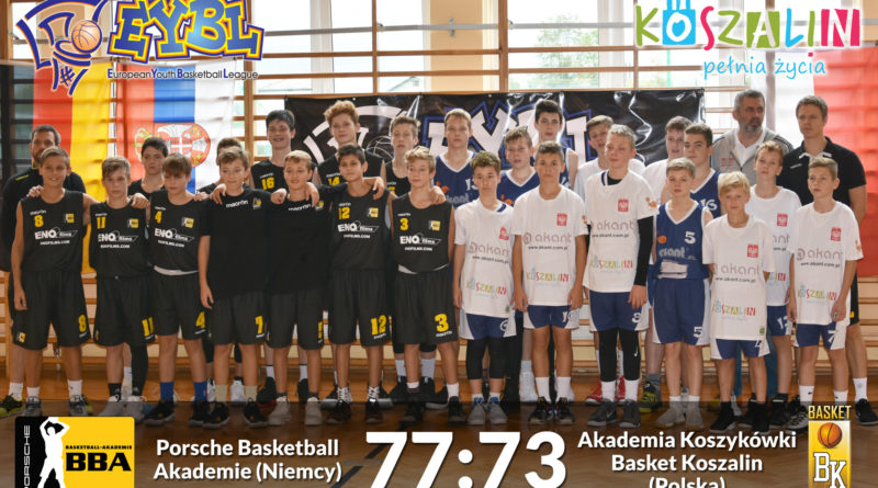 MKK Basket Koszalin – Porsche Akademie 73:77
