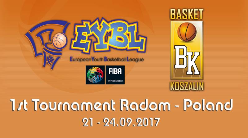 Jedziemy na Turniej ligi EYBL U 14 edycja 2017/2018
