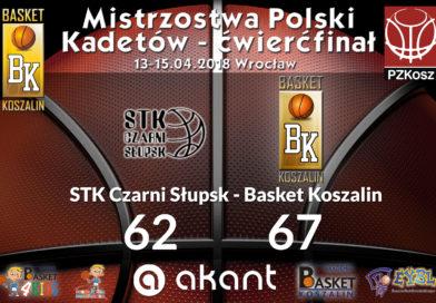 Awansowaliśmy do Półfinału Mistrzostw Polski U 16 !!!