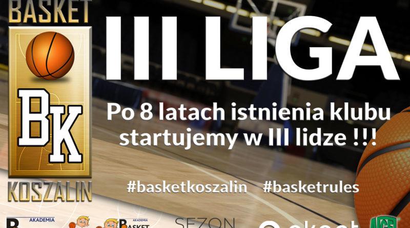 MKK basket w III lidze !
