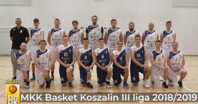 MKK Basket Koszalin w III lidze