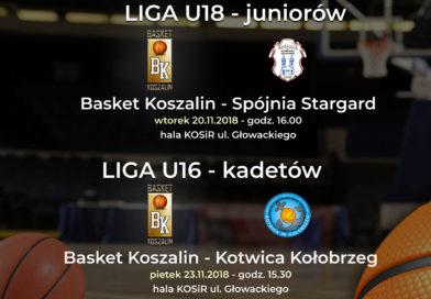Tydzień pełen grania w MKK Basket Koszalin