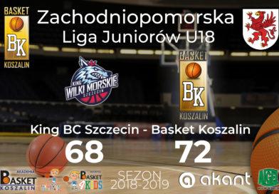 Wygrana MKK Basket w lidze U18