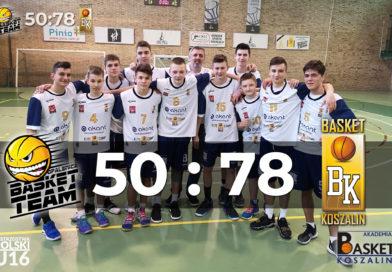 Wygrana U16 w Opalenicy !