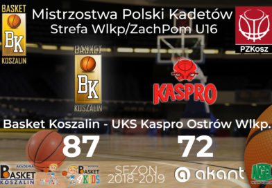 Strefa U16 – wygrana z Kaspro Ostrów Wlkp.