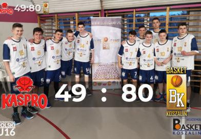 Wygrana Kadetów U16 w Ostrowie Wlkp.